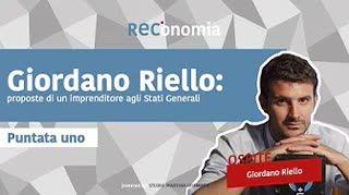 Giordano Riello proposte di un imprenditore agli Stati Generali - REConomia