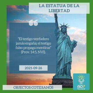 26 de septiembre - La Estatua de la Libertad - Devocional de Jóvenes - Etiquetas Para Reflexionar