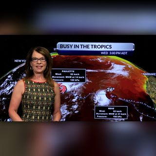 Our Atlantic Regional Afternoon Forecast with Cindy Day for September 9 2020