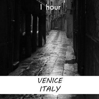 Venice, Italy | 1 hour RAIN Sound Podcast | White Noise | ASMR sounds for deep Sleep | Relax | Meditation | Colicky