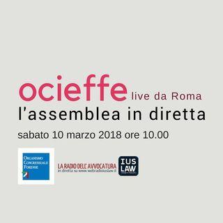 Assemblea Ocieffe sabato 10 marzo 2018 dalle ore 10 alle ore 16