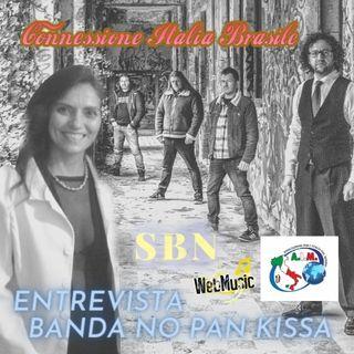 Conexão Italia  Brasil Entrevista Banda NO PAN KISSA