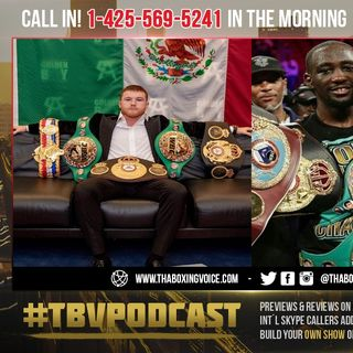 ☎️Oscar Feels Arum Trying to Steal Canelo😱Says Crawford Might Not Make Hall of Fame😢