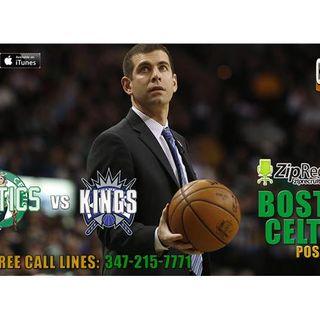 52: Celtics v Sacramento Kings | 2016-17 NBA Regular Season | CLNS Radio