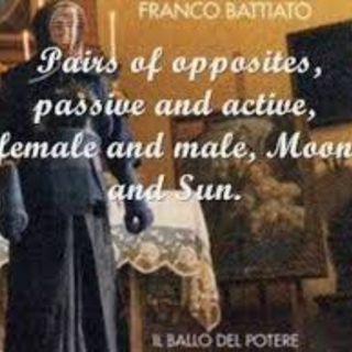 il ballo del potere - Franco Battiato