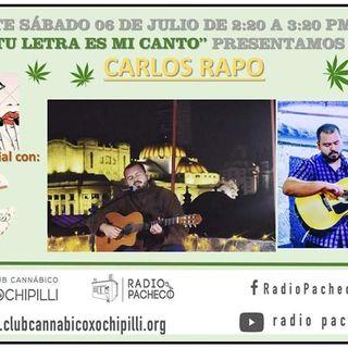 """""""Carlos Rapo"""" Tu Letra Es Mi Canto Prog 20"""