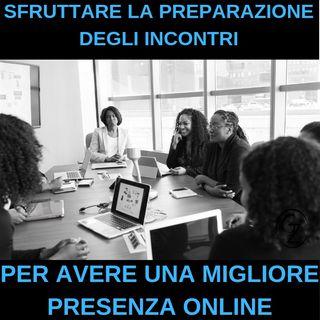 Come sfruttare la preparazione degli incontri educativi per avere materiale online
