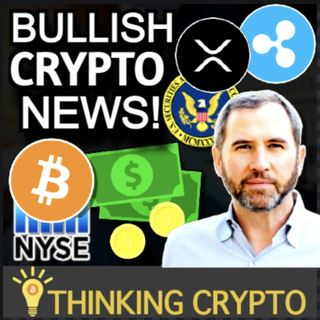 BITCOIN ETF ON NYSE TOMORROW & RIPPLE CEO SAYS NO SETTLEMENT WITH XRP LAWSUIT!!