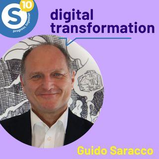 10 anni di Synesthesia con il Prof. Guido Saracco. Parliamo di Digital Transformation