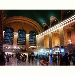 Paseando por Grand Central Terminal