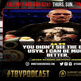 ☎️Usyk-Joshua Rematch🔥February Or March In The UK🇬🇧Pacquiao Isn't Retired❓Plant  Keeps Same ENERGY