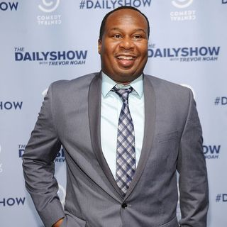 Comedian Roy Wood JR. from The Daily Show