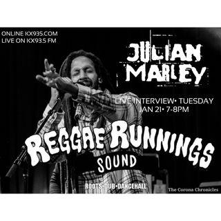 Reggae Runnings | Julian Marley Interview