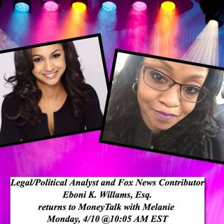 Eboni K. Williams~Legal and Political Analyst and Fox News Contributor