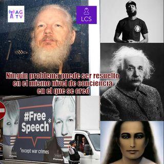#126 Ningún problema puede ser resuelto en el mismo nivel de conciencia en el que se creó #Assange #NipseyHussle #KatieBouman