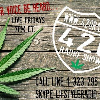 The 420 Radio Show LIVE Edition with Guest Dr. Jeffery Block on www.420radio.ca - Feb 26, 2021