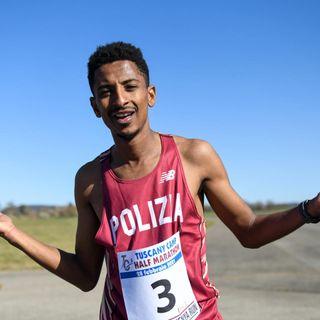 Eyob Faniel stabilisce il nuovo primato italiano di mezza maratona: 1h00:07