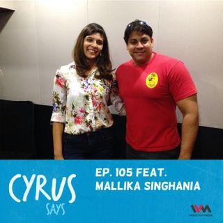 Ep. 105 feat. Styleogram's Mallika Singhania