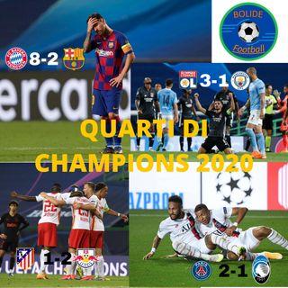 BARCELLONA-BAYERN MONACO 2-8| Analisi dei quarti di finale di Champions League