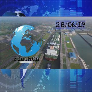 La ampliación del Canal de Panamá cumple tres años con el tránsito de 6.500 buques | FlashOn