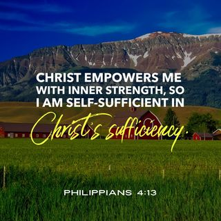 Prayer to Know Christ is Your Sufficiency.