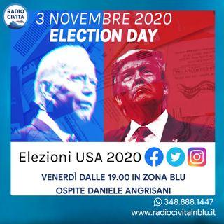 """""""Elezioni Usa 2020"""" intervista a Daniele Angrisani"""