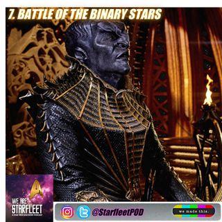 7. Battle of the Binary Stars
