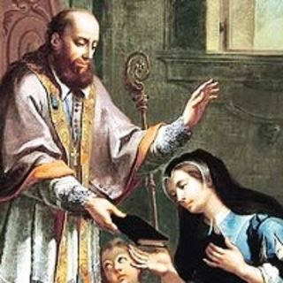 Santa Giovanna de Chantal e san Francesco di Sales