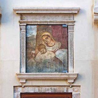 Madonna col Bambino e san Giovannino, dalle origini al restauro