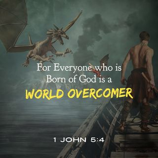 God Created You in Christ Jesus with Authority as a World Overcomer