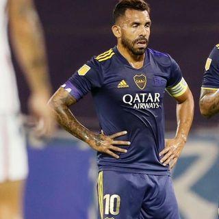 Gol de Boca: Carlos Tévez 1-5