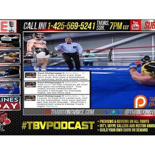 McGregor vs Malignaggi Sparring Leaked, Mayweather vs McGregor Media Day Fallout