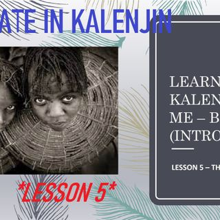 The Date in Kalenjin