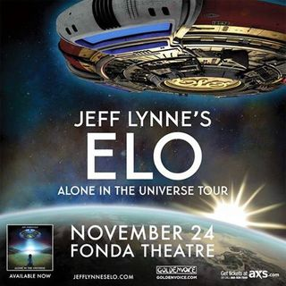 Jeff Lynne's ELO - One Step At A Time & Strange Magic - Fonda Theatre(24th.Nov.2015)