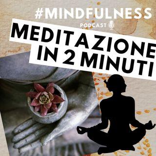 Meditazione di 2 minuti sul respiro