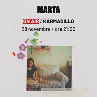 MARTA: una nuova voce femminile nel cantautorato indie ferrarese - Karmadillo - s03e08