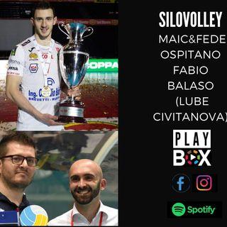 Il libero Fabio Balaso, fresco Campione d'Italia con la Lube, ospite di Maic e Fede.