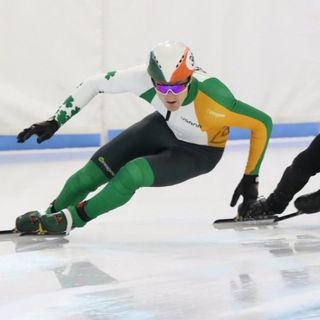 Speed Skater (Team Ireland)  - Ryan McAnuff