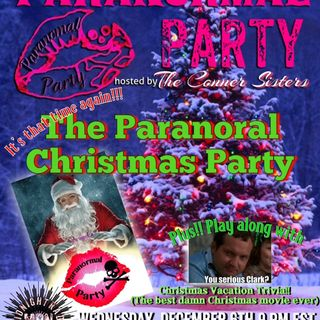 It's a Christmas Party..........Paranormal Party Style!!!