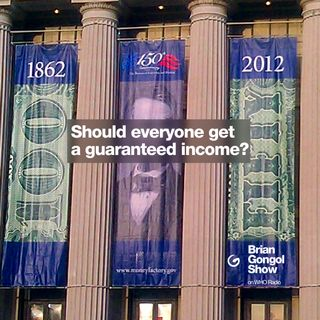 Should everyone get a guaranteed income?