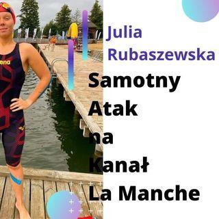 Julia Rubaszewska - Przepłynąć wpław Kanał La Manche #02