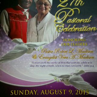 27th Pastoral Celebration Speaker Rev Caldwell