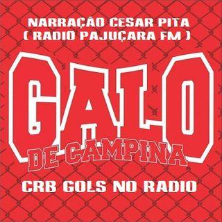 Vasco da Gama 1 x 2 CRB - Narração César Pita (Rádio Pajuçara) - Serie B 2016