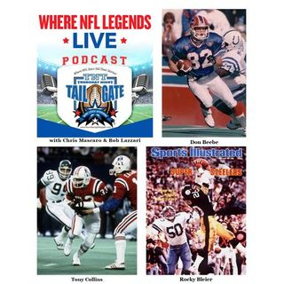 Don Beebe, Tony Collins, and Rocky Bleier Talk Super Bowls Past & Present