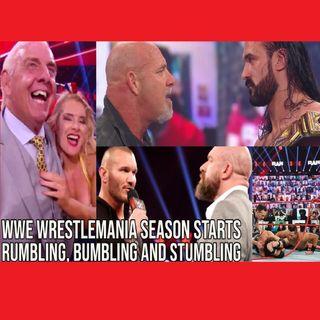 WWE WrestleMania Season Starts Rumbling, Bumbling and Stumbling KOP011421-585