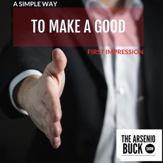 A Simple Way To Make A Good First Impression