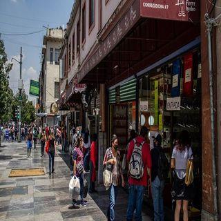 Comercios del centro histórico cerrarán a las cinco de la tarde por Covid-19