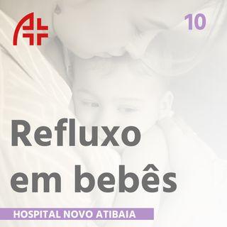 Hospital Novo Atibaia 10 - Refluxo em bebês