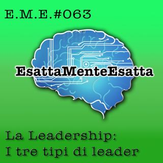 P.63 La leadership I: i 3 tipi di leader