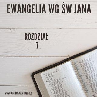 BNKD Ewangelia św. Jana - wstęp do rozdziału 7 i 8